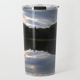Mill Pond Sunset Travel Mug