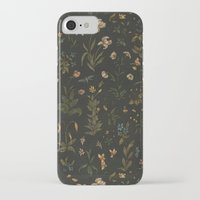 iPhone Cases featuring Old World Florals by Jessica Roux