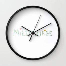 Milwaukee Wall Clock