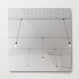 Coffeeshop Ceiling Metal Print