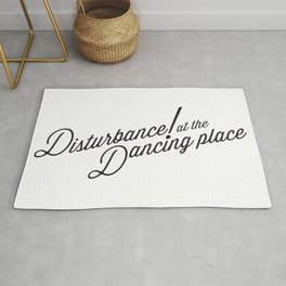 Disturbance at the Dancing Place Rug