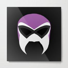 Fantasma  Mask Metal Print