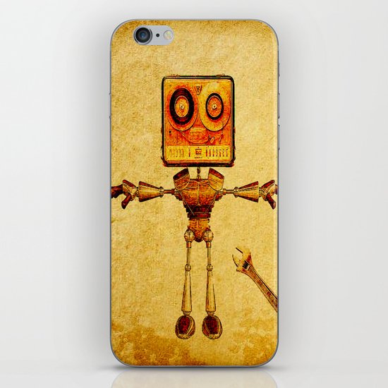 Repair of the robot iPhone & iPod Skin