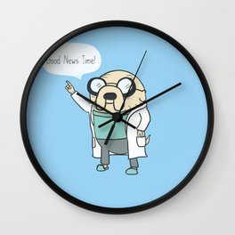 Good News Time! Wall Clock