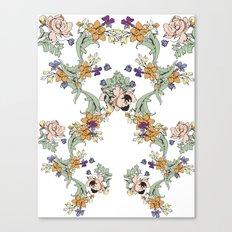 garden lace Canvas Print