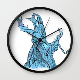 Twists And Turns. /// Wall Clock
