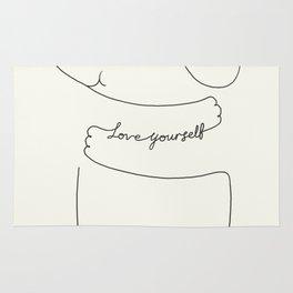 Love Yourself Ele Rug