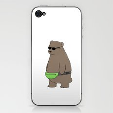 Cool Fanny Pack Bro iPhone & iPod Skin