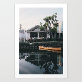 A Frame | Venice Beach, California Art Print
