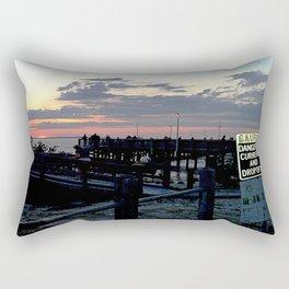 Dangerous Currents Rectangular Pillow