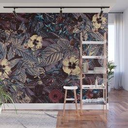 dark flowers #flower #flowers Wall Mural