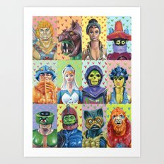 I Heart The Masters Art Print