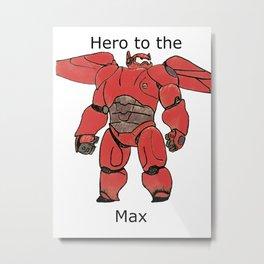 Hero 6 Metal Print