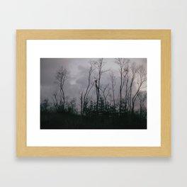 Blasted Shadows. Framed Art Print