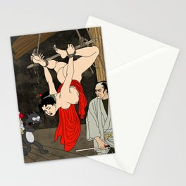 Hang me high Stationery Cards