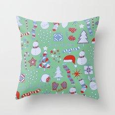 Christmas Fun Throw Pillow