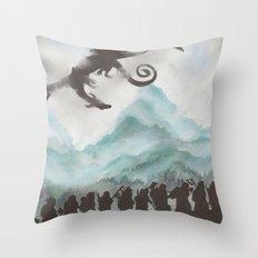 The Desolation of Smaug Throw Pillow