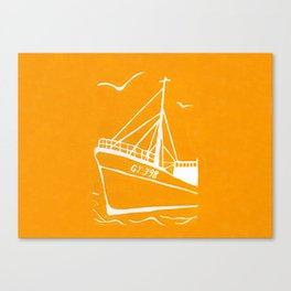 Ross Tiger in Yellow Canvas Print