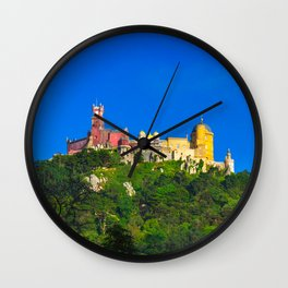 Pena Palace I Wall Clock