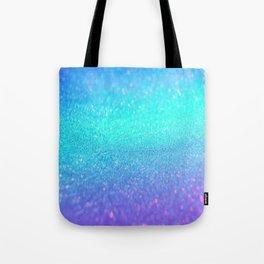 purple blue glitter Tote Bag
