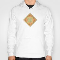 deco Hoodies featuring Deco abstraction by Steve W Schwartz Art