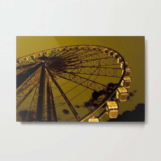 Enjoy your ride Metal Print
