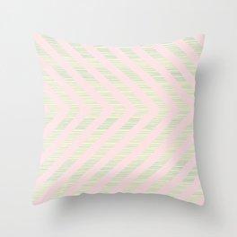 Pink Arrows Throw Pillow