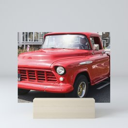 Red Truck Mini Art Print