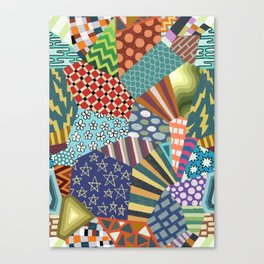 Pattern Explosion 2 Canvas Print