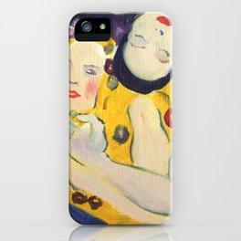 Klimt Girls iPhone Case