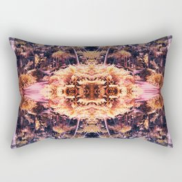 Acid Tropic Kaleidoscope Rectangular Pillow