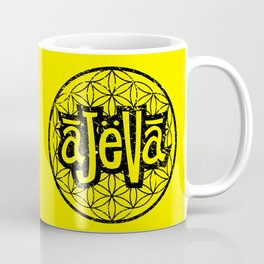 Ajeva Logo Yellow Coffee Mug