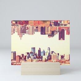 Twin Cities Mini Art Print