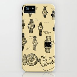 Watches iPhone Case