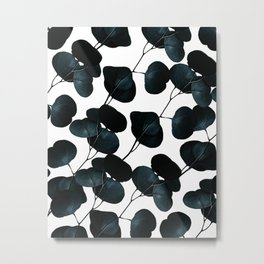 Dark Leaves #society6 #artforsale Metal Print