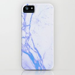 Teal Marble iPhone Case