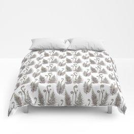 Delicate Ferns Comforters