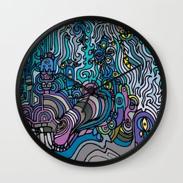 THE AFTERPARTY Wall Clock