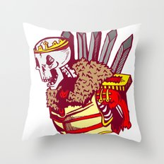 You win or you die Throw Pillow