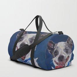 Chihuahua Dog Portrait Duffle Bag