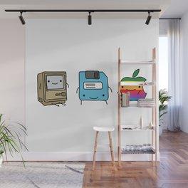 The Three Best Friends Wall Mural