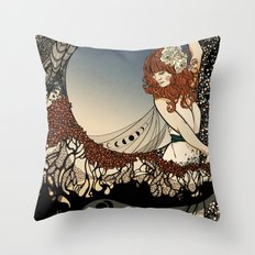 How Big, How Blue, How Beautiful Throw Pillow