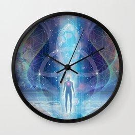 """A Spark of the Creator!"" - Trinity Wall Clock"