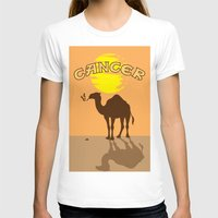 cancer T-shirts featuring Cancer by Tony Vazquez