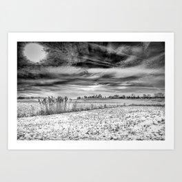 hole in the sky Art Print
