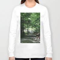 bridge Long Sleeve T-shirts featuring Bridge by Alyson Cornman Photography