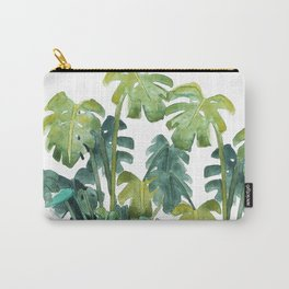 Split-Leaf Philodendron Carry-All Pouch