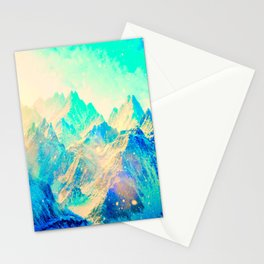 Blue montains Stationery Cards