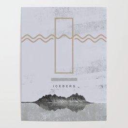 Iceberg (letter I) Poster