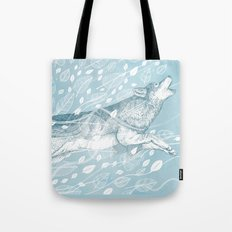 Wild Wind Tote Bag